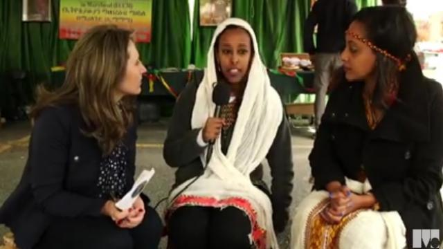 Ethiopian coffee, food and dance at World of Montgomery 2015