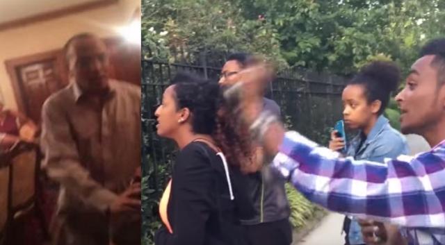 Protesting at Ethiopian Ambassador Girma Birru's Resident Gone Wrong