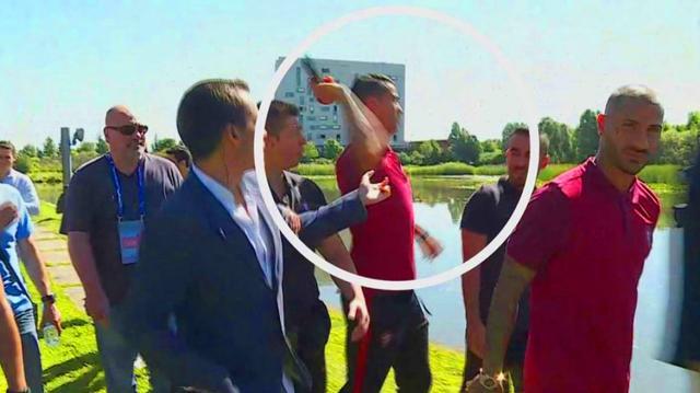Cristiano Ronaldo GOES CRAZY & Throws reporter's Microphone - EURO 2016