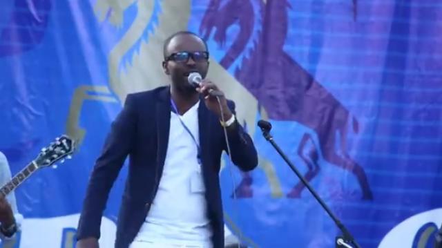 Sami Dan - Anchi Yene - Live at Test of Addis Tropical Guarden 2015