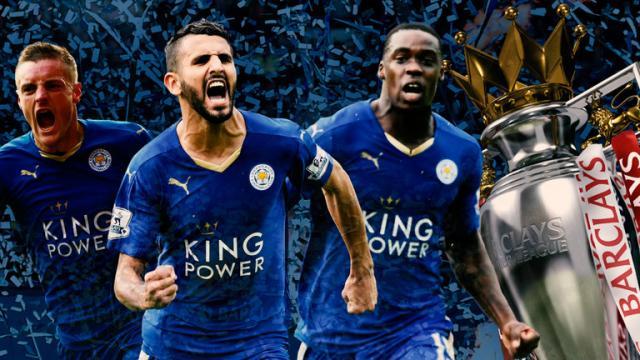 Leicester City win the Premier League title - Fans Celebrate