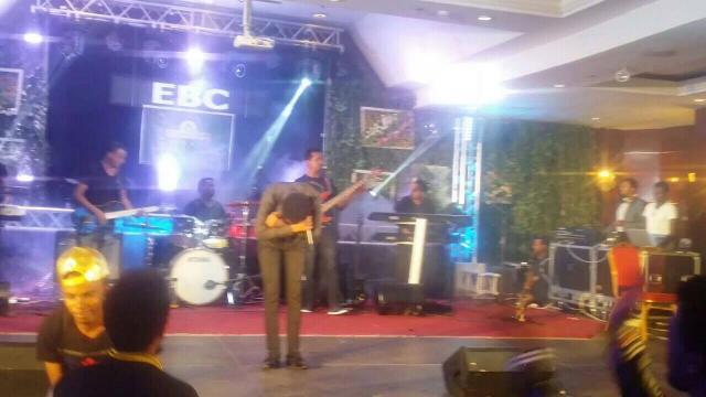 Musician Dan Admasu - New Year EVE Performance 2009