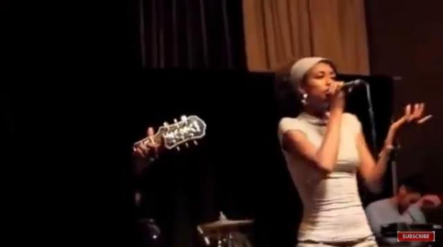 Ethiopia: Betty G Singing Michael Jackson's song on stage