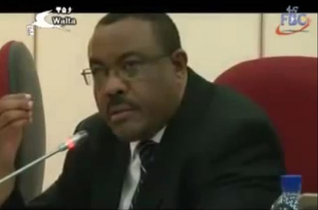 PM Hailemariam's Desalegn Best Speech Ever