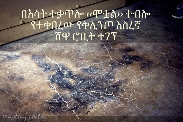 Ethiopia - Man who presumably dead in Kaliti fire found Alive