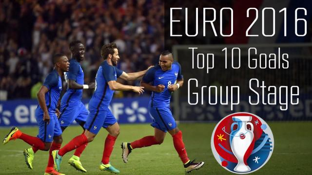 Top 10 Goals Group Stage - Euro 2016