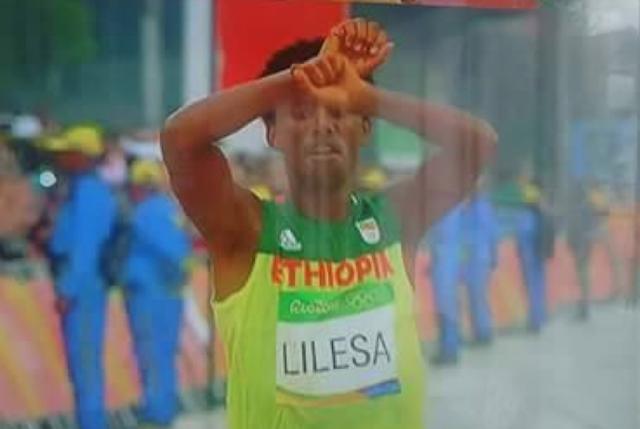 Rio 2016: Feyissa Lelisa takes silver for Ethiopia