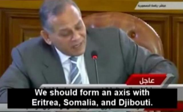 Egypt's Politicians Secret Discussion on Ethiopia's Dam during president Morsi