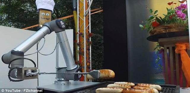 Watch a robot make Bratwurst without any help from a human