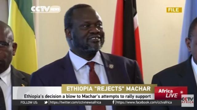 Ethiopia says it won't entertain Riek Machar - CCTV Africa
