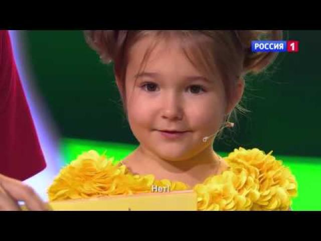 Adorable 4 year old Russian girl speaks 7 languages fluently - Part 2
