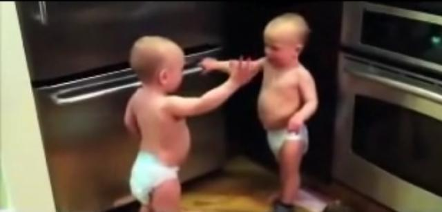 Funny Video - Talking twins Adorable kids