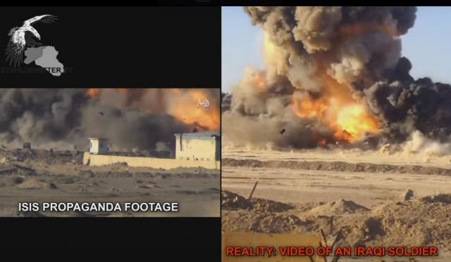 Watch Video: Iraqi Forces Destroyed ISIS Suicide Truck On the Battle for Ramadi