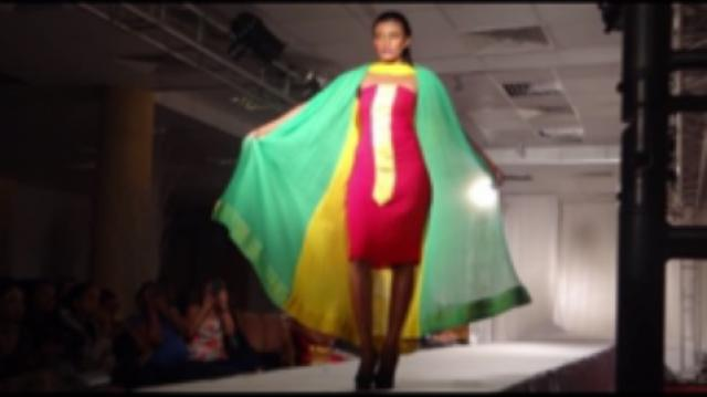 The Impressive Ethiopian Neo-Tradditional dresses and Fashion at Friendship Int'l Hotel