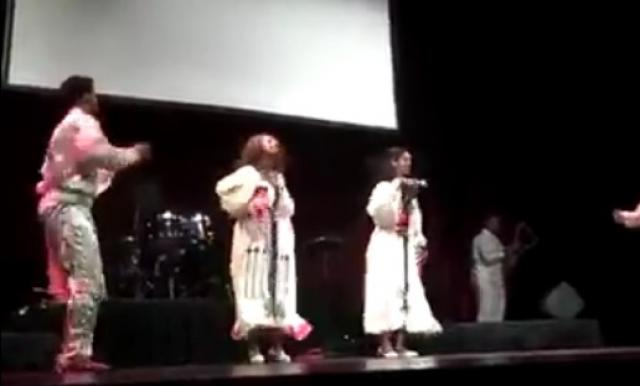 Beautiful Ethiopian cultural dance performance