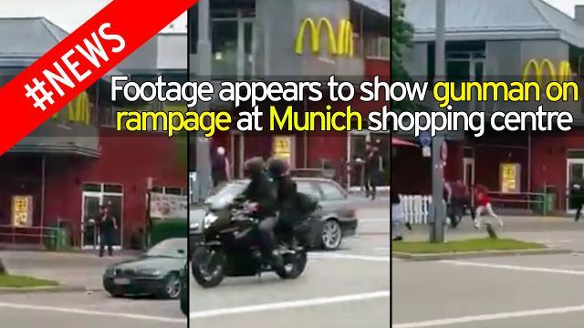 Munich Attack | Video of Gunman Shooting at Mall