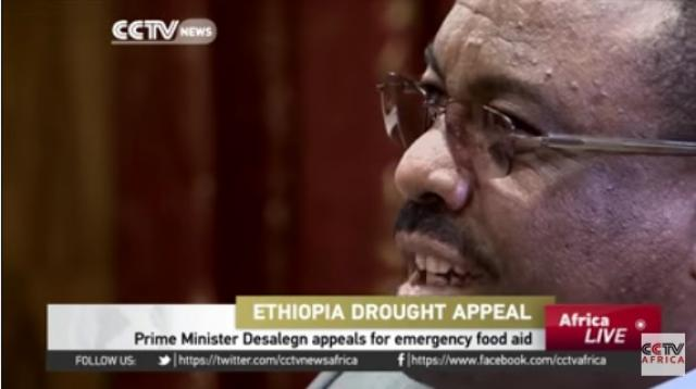 Ethiopia Prime Minister Desalegn appeals for emergency food aid - CCTV Africa