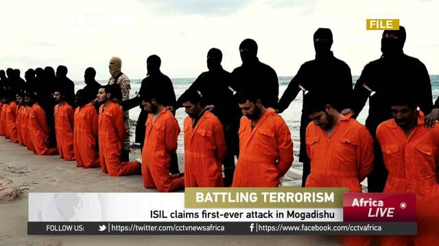 Video could be visual confirmation of ISIL presence in Somalia