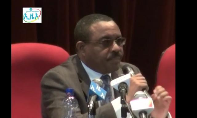 PM Hailemarima Desalegn Forum with Government officials and the Society