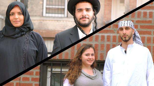 Muslim and Jewish Couple Experiment - See Peoples Reaction