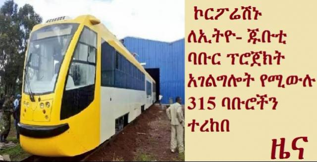 Corporation takes delivery of 315 trains for Ethiopia-Djibouti railway
