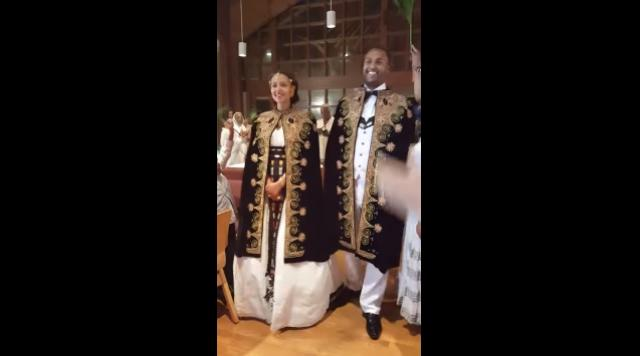 Beautiful Ethiopian wedding Melat & Daniel July 4, 2016