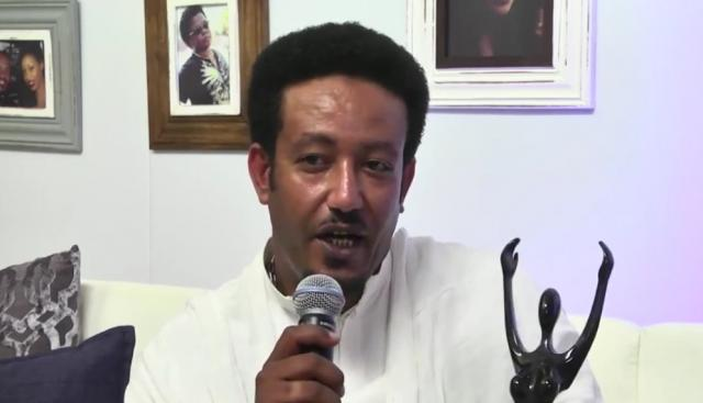 Ethiopia's Samson Tadesse received Best Supporting Actor on Sost Maezen at AMAA