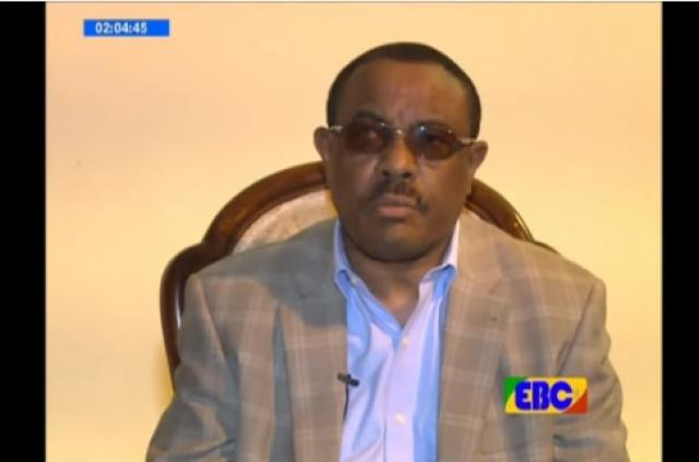 PM Hailemariam offer condolence to the all victims families in Gambella Region