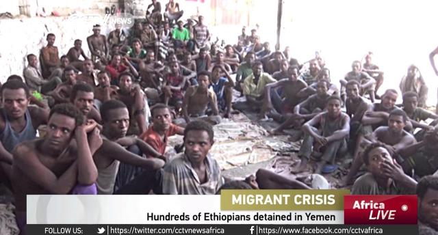 Illegal Ethiopian migrants arrested in Yemen's Aden