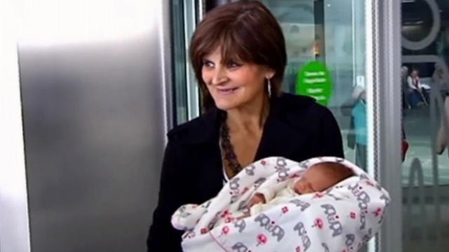 62-year-old mother gives birth to her third child in Spain