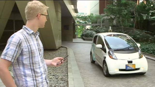 Now Driverless taxis are being tasted in Singapore streets