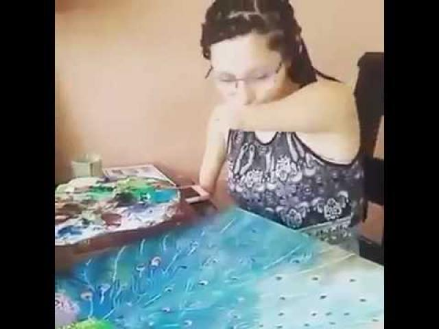 Watch this armless incredible women