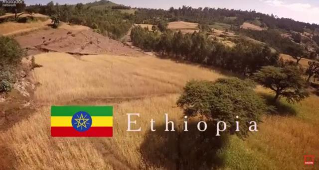 Ethiopia from the Air and Ground: Beatiful
