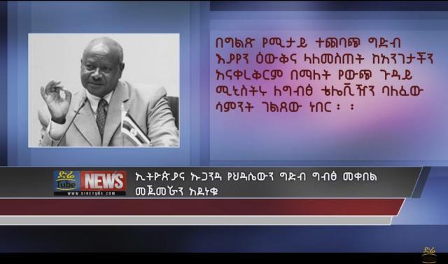 Ethiopia and Uganda admired Egypt's View to the renaissance dam