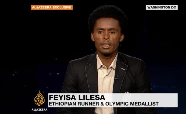 Exclusive: Ethiopian runner Feyisa Lilesa not seeking US asylum