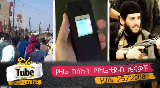 Ethiopia - The latest afternoon headline News From DireTube Aug 31, 2016