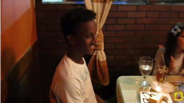 Adopted Ethiopian Boy Birthday Celebration