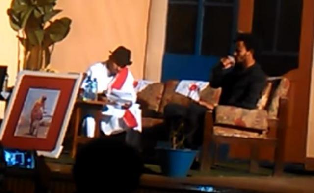Ethiopia - Musical poem - Poet Eyoba and Singer Dawit Tsige duet
