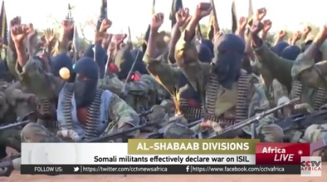 CCTV Africa - Somali militants effectively declare war on ISIL