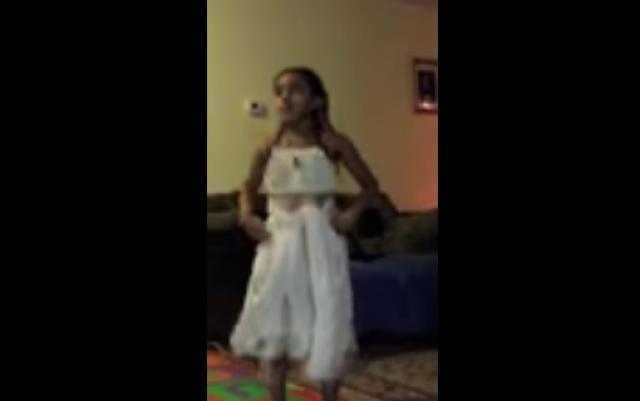 This little Ethiopian is doing amazing Eskista