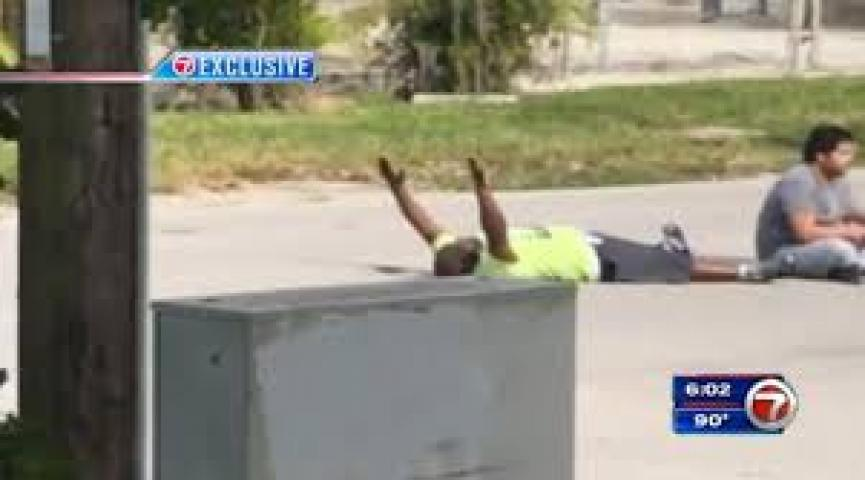 Unarmed South Florida Man With Hands Up Shot By Police