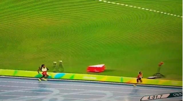 Genzebe Dibaba got Silver women's 1500m final-Rio 2016 Olympic