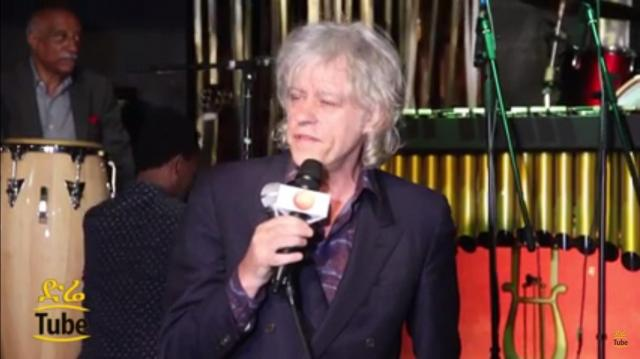 Ethiopia: Pop Singer Bob Geldof speaking about Awash Wine