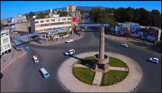 Addis Ababa - Ethiopia's capital -  Drone Footage - June 2016
