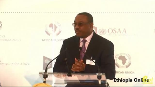 "Ethiopia's PM Hailemariam Desalegn's Speech at ""Industrialization in Africa"" in NY"