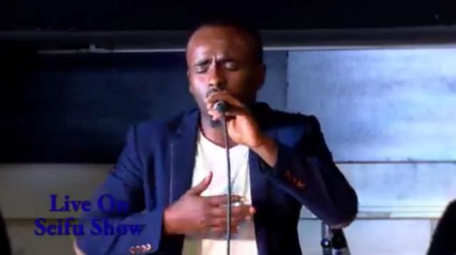 """Sami Dan - """"Tefa Yemileyen"""" - Live on Seifu show"""