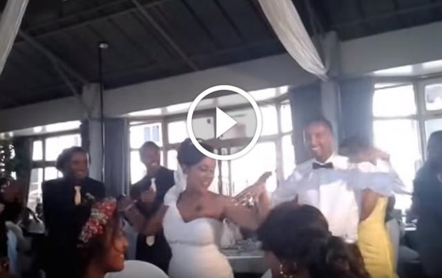 Haile & Addishiwot's First wedding Dance! The craziest couples ever!