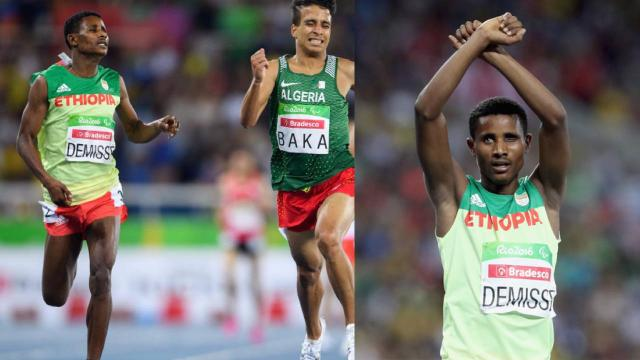 Tamiru Demisse, a silver medalist at Rio Olympic Protesting Against Ethiopian government