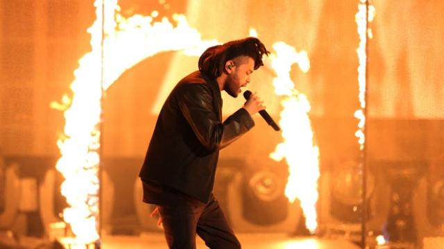 The Weeknd Performance The Hills at AMAs 2015 HD