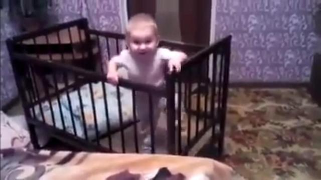This Cute Baby doesn't need help - Must Watch